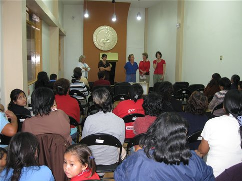 women's conference was well attended
