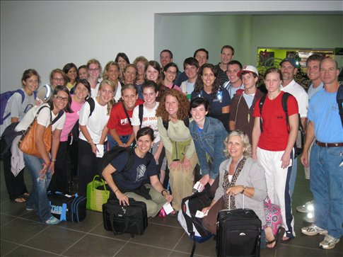 My airport shot with the Trinity Team!  Thanks y'all!