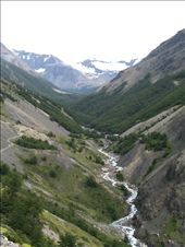 Looking down at the valley as you head up to the towers.  This is on the way to Chilean Camp.: by alleen, Views[160]