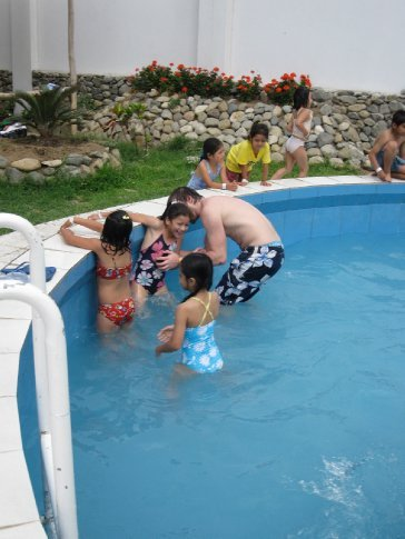 pool time was always a big hit!