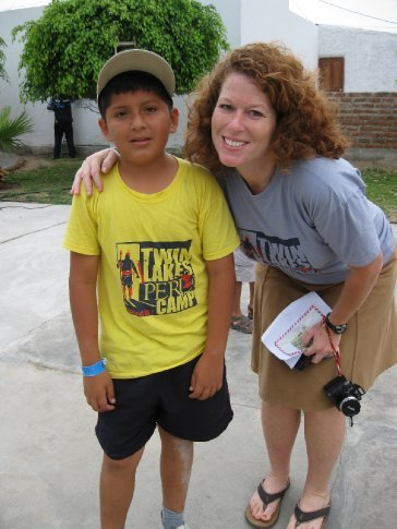 my friend Nic.  A faithful camper all 3 years!