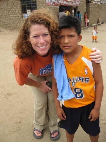 my friend Jihad.  I met him the first few weeks when I was in Trujillo.  He has stolen my heart!
