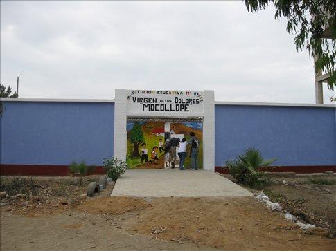 School where we had the clinic