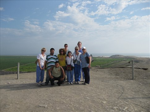The brave group that went to El Brujo