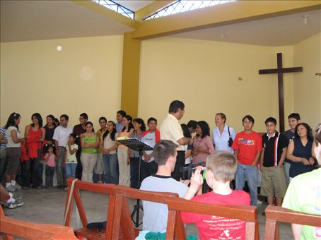 Camp Training in Winchanzao church.