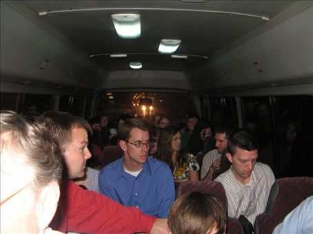 The Trujillo Shuffle or us all crammed into Bob our bus.