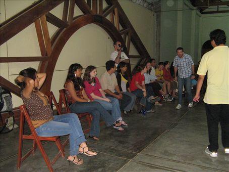 New Year´s Eve in Trujillo, Peru at Larco church