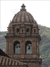 Bell Tower on the Church in Cusco, Peru's Plaza d'Armas: by alleen, Views[151]