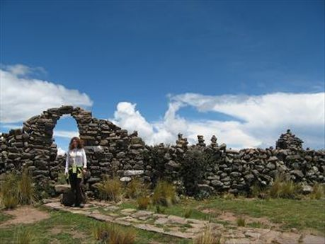 Now you are at the top of Taquille Island!