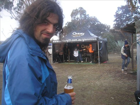 Albert at the Emmaville Country Music Festival.  Can you get any more Aussie than that?