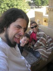 Pulling faces in Jaisalmer: by allwelcome, Views[230]