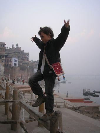 Kung Fu in the world's martial arts capital Varanasi