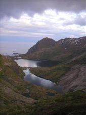 Hiking in the middle of the night! Lofoten: by allwelcome, Views[385]