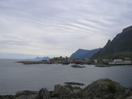 typical sights in lofoten