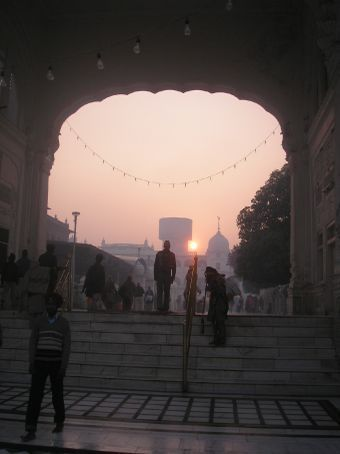 Amritsar, The Golden Temple, early morning