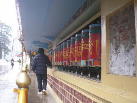 Prayer Wheels from Tibet (in India)