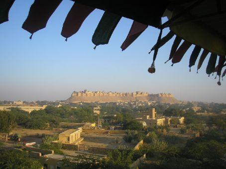 Jaisalmer - the golden city. From Fifu Guest House