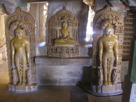 In Jaisalmer, Jain temple