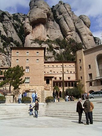 The base of Montserrat.