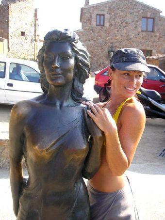 Ava Gardner and moi