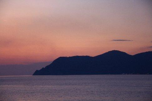 Sunset at Manarola