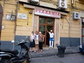 Outside Da Michele - the pizza guy thought we were crzy tourists: by almost_italian, Views[262]