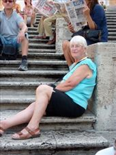 Mother on Spanish Steps: by almost_italian, Views[119]