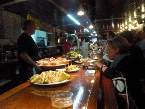 Delicious tapas bar, San Sebastian