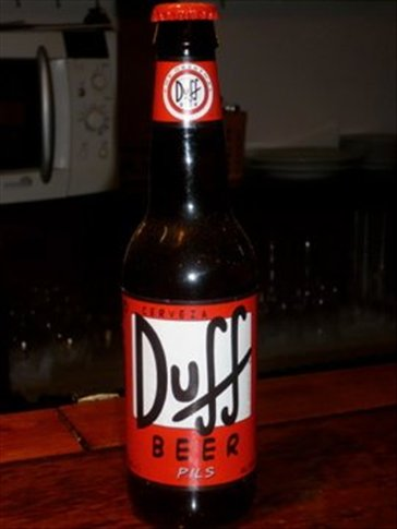 Duff beer in Spain?