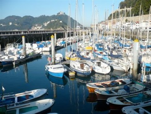 Harbour at San Sebastian