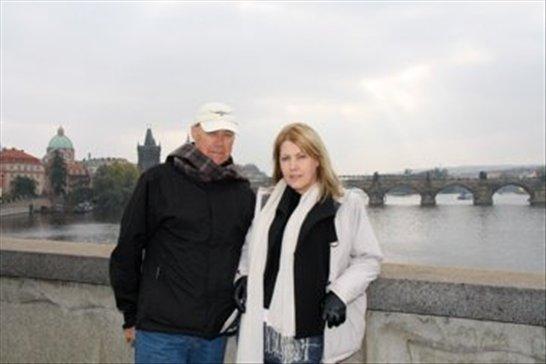 Charles Bridge, Prague (background)