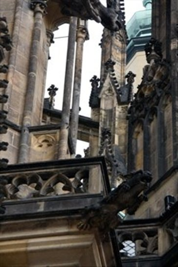 Gargoyles on the Cathedral
