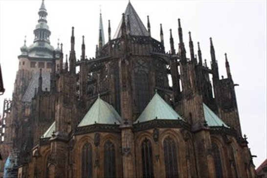 Cathedral, Prague Castle