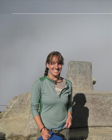 Me posing next to the Sun Dial, which was used to track the seasons. Why is this a special picture? Why do I have such a giddy smile on my face? Because back in the 1930's, Richard Halliburton spent the night on this sun dial. I touched something Richard Halliburton did! The highlight of my trip to Machu Picchu.