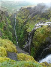 More of the amazing Glymur waterfall and gorge: by alpiner84, Views[1084]