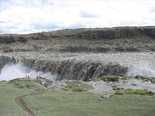 Cant even begin to describe the power of this waterfall (Dettifoss)