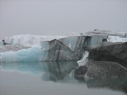Out of sequence, here is an iceberg from near Skaftafell