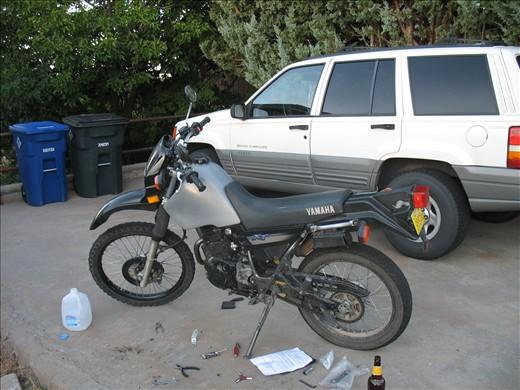 Yamaha xt225 gas tank | Сars & Motorcycles