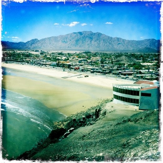 View of San Felipe from the lighthouse/shrine/hill thingy.