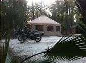 Stayed at a B&B in San Ignacio, owned by some Canadians, and fitted out with yurts! Awesome!: by alpiner84, Views[312]