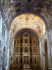 The interior of Santo Domingo, one of the most jaw-dropping gilt jobs I've ever seen. : by alpiner84, Views[285]