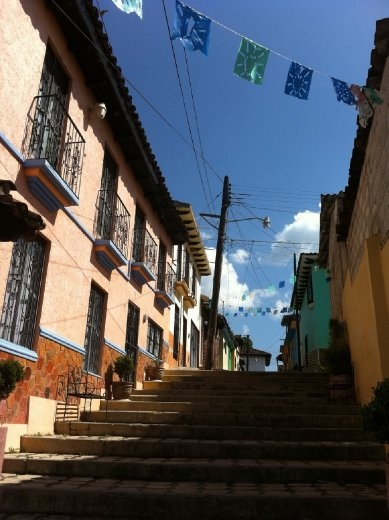 Street views of San Cristobal de las Casas.