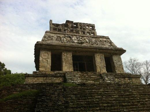 Temples at Palenque, Chiapas, Mexico