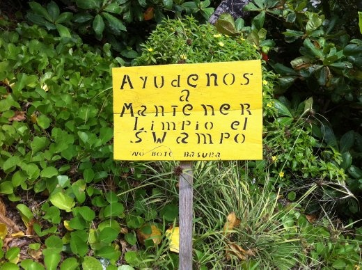 My favorite sign on the island. And there are a lot of contenders.