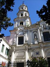 A cathedral in the old part of San Telmo neighborhood. : by alpiner84, Views[353]
