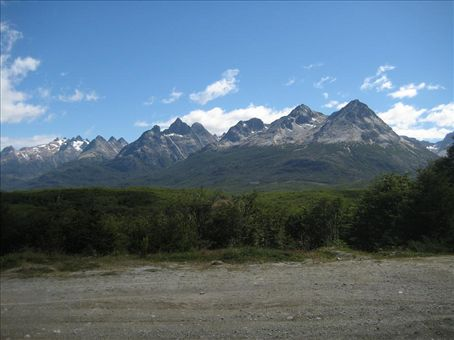The view of where we´d been hiking. The highest point out there is just 4,000 feet!