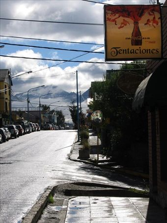 View from the front door of our hostel, Cruz del Sur, run by a fantastic Italian named Luca.