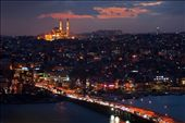 View of the city from Galata Tower at sunset: by alvise, Views[557]