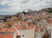 Lisbon. The buildings are white and the roofs are red. The city is built on seven hills. The view is different from every hill top. : by alysandjess, Views[367]