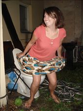 When someone doesn't understand that we are asking for the toliet, this is what Jess does.: by alysandjess, Views[658]